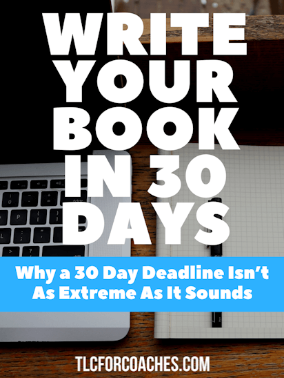 Write Your Book in 30 Days